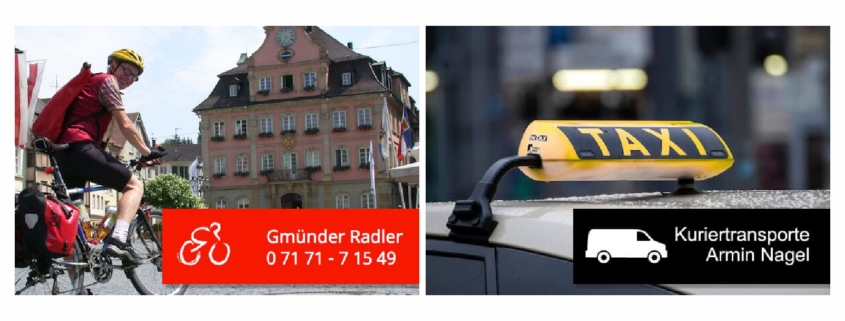 Lieferservice Gmuender Radler, Taxi Nagel