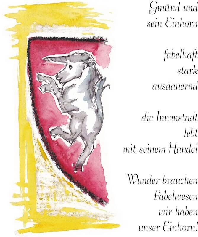 Einhorn Wappen